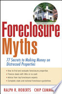 Foreclosure Myths