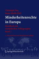 Minderheitenrechte in Europa