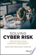 Solving Cyber Risk
