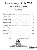 Lifepac Language Arts Grade 7