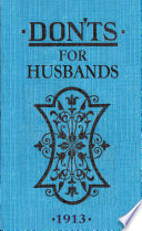 Don ts for Husbands