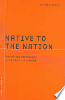 Native To The Nation : question of displacement, and of establishing...