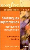 Statistiques inférentielles appliquées à la psychologie
