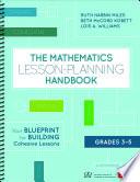 The Mathematics Lesson Planning Handbook  Grades 3 5