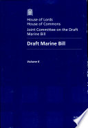 Draft Marine Bill  Vol  2 Oral and Written Evidence  House of Lords Paper 159 II Session 2007 08