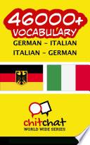 46000  German   Italian Italian   German Vocabulary