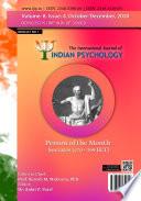 The International Journal Of Indian Psychology Volume 8 No 4 Part 1