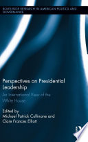 Perspectives on Presidential Leadership