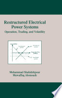 Restructured Electrical Power Systems