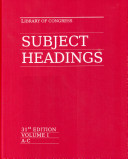 download ebook library of congress subject headings pdf epub