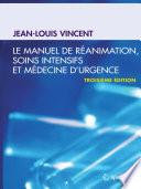 illustration Le manuel de réanimation, soins intensifs et médecine d'urgence