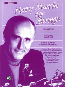Henry Mancini For Strings Vol 2 Cello