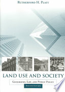 Land Use and Society  Revised Edition