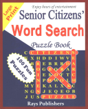 Senior Citizens  Word Search Puzzle Book