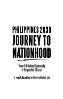 Philippines 2030 journey to nationhood
