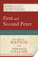 First and Second Peter  Paideia  Commentaries on the New Testament