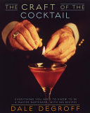 The Craft of the Cocktail Book