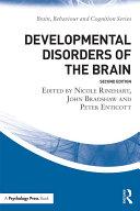 download ebook developmental disorders of the brain pdf epub