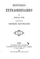 Histoires extraordinaires par Edgar Poe, traduction
