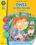 Owls in the Family - Literature Kit Gr. 3-4