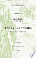 De Vesta et vestalibus
