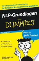 NLP Grundlagen f  r Dummies Das Pocketbuch