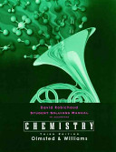 Chemistry, Student Solutions Manual
