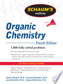 Schaum s Outline of Organic Chemistry  Fourth Edition