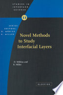 Novel Methods To Study Interfacial Layers book