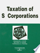 Kahn  Kahn  and Perris s Taxation of S Corporations in a Nutshell