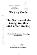 The Sorrows of the Young Werther