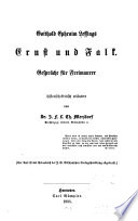 Gotthold Ephraim Lessings Ernst und Falk