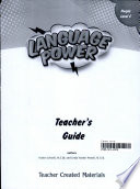 Language Power  Grades K 2 Level C Teacher s Guide