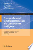 Emerging Research In Artificial Intelligence And Computational Intelligence