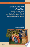 Franciscans and Preaching