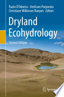 Dryland Ecohydrology Of Terrestrial Ecosystems This Book