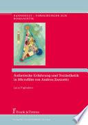 Ästhetische Erfahrung und Textästhetik in 'Microfilm' von Andrea Zanzotto