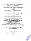 Disputatio anatomico physiologica inauguralis De organo odoratus per animalium vertebratorum classes