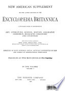 Encyclopaedia Britannica Volume 1