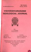 Vishveshvaranand Indological Journal