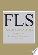 Queer Sexualities in French and Francophone Literature and Film