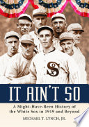 It Ain't So Throw The 1919 World Series To The