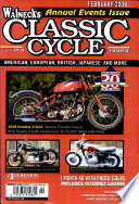 WALNECK'S CLASSIC CYCLE TRADER, FEBRUARY 2008