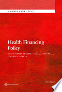 Health Financing Policy