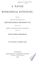A Naval Biographical Dictionary