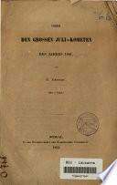 Ueber den grossen Juli-Kometen des Jahres 1861
