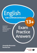 English for Common Entrance at 13  Exam Practice Answers