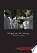 Pedagogy and adult training  A trainer   s manual