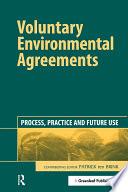 Voluntary Environmental Agreements