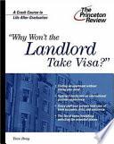 Why Won T The Landlord Take Visa